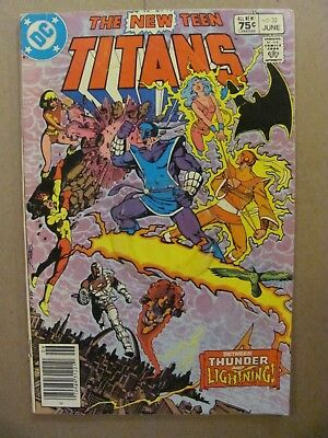 New Teen Titans #32 DC Comics Canadian Newsstand $0.75 Price Variant