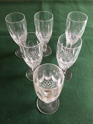 Stunning Waterford crystal Colleen Fluted Champagne Glasses, only 1 left!!
