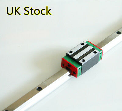 UK Stock HGR15 Linear Guide Rail 1500mm & 1Pcs HGH15CA Linear Rail Carriage