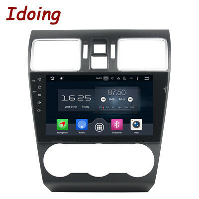 """9""""Android 8.0 Car DVD Player For Subaru WRX 2014-2016 2Din 8Core GPS Navigation"""