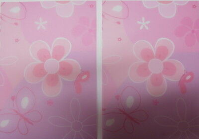 Christina Re Transparent Paper 15cm x 10.5cm *FLOWERS & BUTTERFLIES* x 10