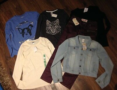 Bulk Girls Size 12 Mixed Items- All BNWT- Gum, Denim Jacket Etc.