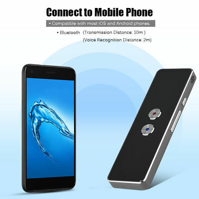 Portable Smart Two-Way Real Time Multi-Language Voice Translator for Learning