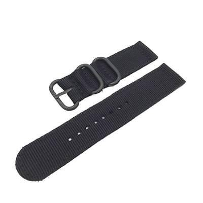 Sports Military Woven Nylon Canvas Fabric Band Strap For Samsung Gear S2-S3
