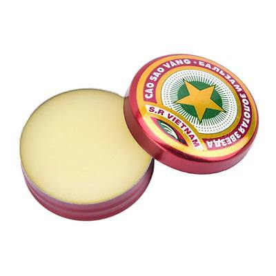 2Pcs 4g Golden Star Balm Ointment for Headache Dizziness Insect Stings-Heat