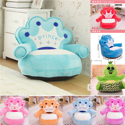 Kids Comfy Soft Plush Chair Children Toddlers Armchair Seat Nursery Baby Sofa