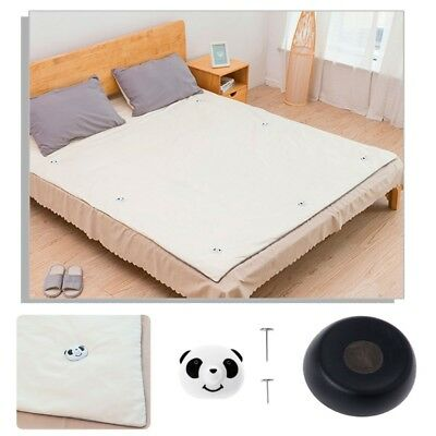 Magnetic Bed Blankets Comforters Sheets Quilt Clip Fixer Panda Cap Detacher Set