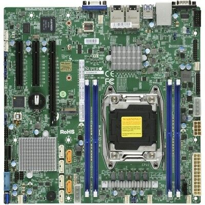 NEW MBSM-X10SRM X10SRM, SUPERMICRO SINGLE SOCKET E5-2600/1600 V4/V3, 4X DDR.e.