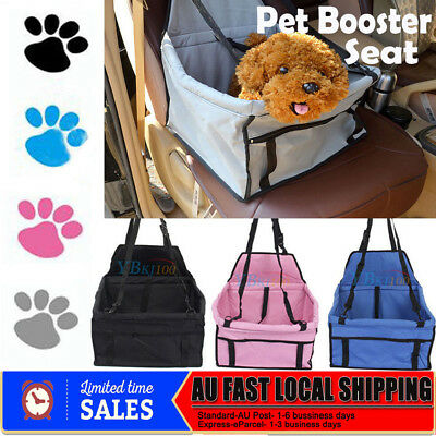 Foldable Pet Dog Car Seat Cover Safe Booster Basket Protector Travel Carrier Bag