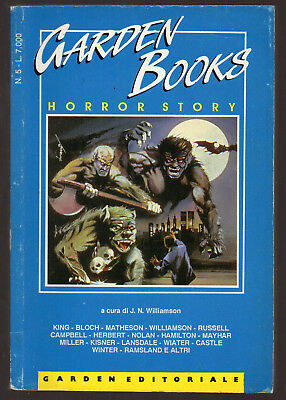 """HORROR STORY"" - n°5 - King - Matheson - Bloch ecc - 1989 - Garden Books"