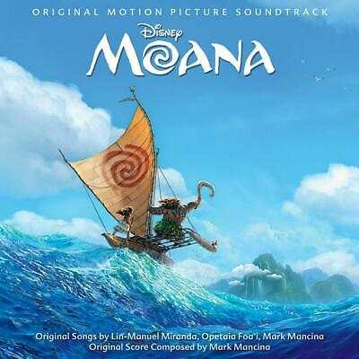 Moana (Original Motion Picture Soundtrack) - Various Artists Compact Disc Free S