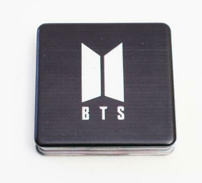 K-pop BTS Bangtan Boys Mirror Compact  - Black