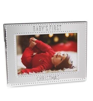 Carter's Baby's First Christmas Picture Frame
