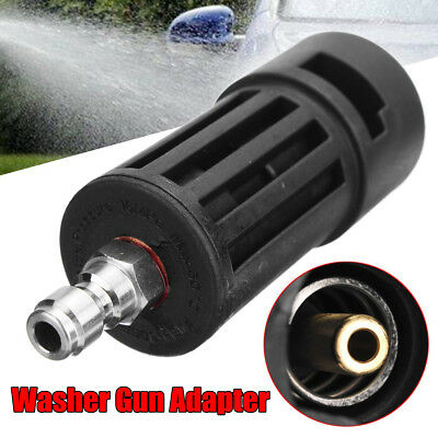 "1/4""F Pressure Washer Jet Gun Lance Quick Connect Compact Adapter For Karcher K"