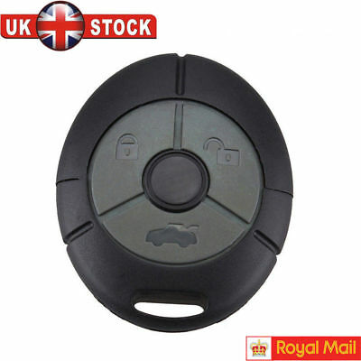 NEW Fits Rover MG TF ZR ZS 25 45 Streetwise 3 Button Remote Key Fob Case Shell K