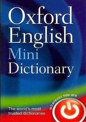 Oxford English Mini Dictionary: Paperback Edition by Oxford Dictionaries (Englis