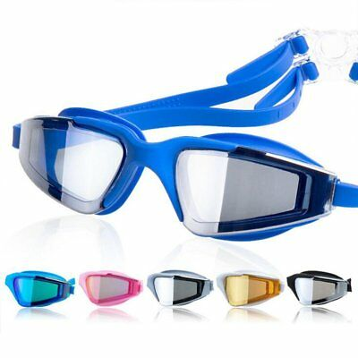 Adjustable adult kids Anti Fog Swimming Glasses Goggles Outdoor Sports