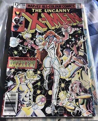Uncanny X-Men #130. Fine condition Marvel comic first dazzler