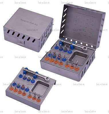 Surgical Sinus Bone Drill Lift Compression Kit Dental Implants Grafting CE