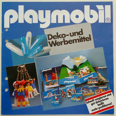 Very rare vintage Playmobil Display & Merchandise Dealer Catalog Katalog