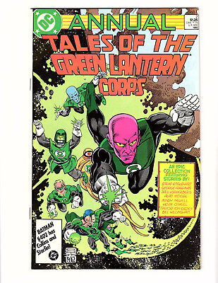 Tales of the Green Lantern Corps Annual #2 (1986, DC) NM- Alan Moore Story