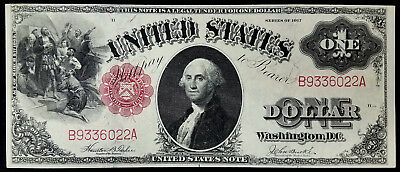 Series of 1917 One Dollar United States Note! Fr. #36! Has original crispness!