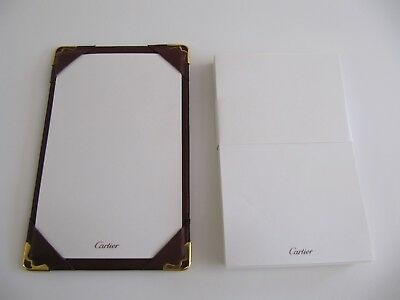 Cartier Leather Pocket Note Jotter With Extra Paper