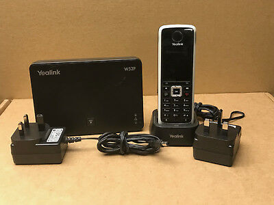 Yealink W52P Bundle IP Phone with Base and Charger