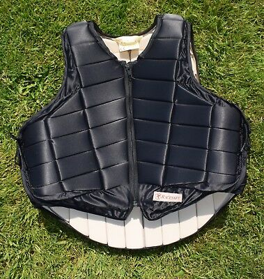 Racesafe 2000 Black Body Protector size L  Uk 16 NEW only tried on at home.