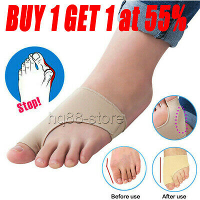 Soft Gel Big Toe Bunions Protector Support Socks Pressure Pain Relief Brace