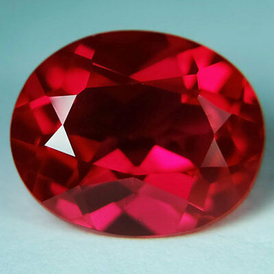 5.70ct.AWESOME BLOOD RED RUBY OVAL LOOSE GEMSTONE