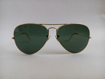 AUTHENTIC Ray Ban TRADITIONAL AVIATOR LARGE 62[]14  Sunglasses B & L USA