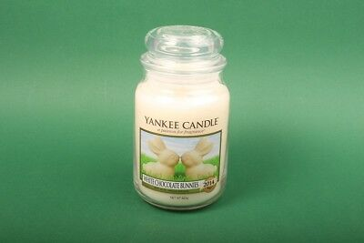 "Yankee Candle® ""White Chocolate Bunnies"" Große Classic Jar 623 g Duftkerze"