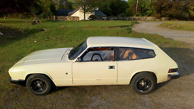 reliant scimitar GTE 6A 1977 manual overdrive tax exempt and MOT exempt