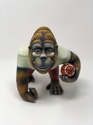 "Carlos & Albert Gorilla Football Player ""Signed"" Limited Edition #41/150"