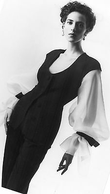 Photographie originale Christian Dior, collection Printemps Eté 1990 Roche Noire