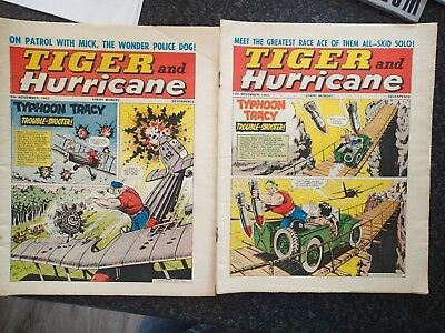 Tiger & Hurricane Comics - 10 Issues - Very Good Condition