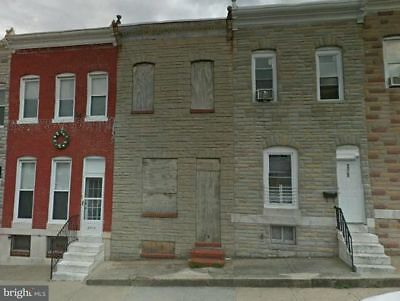 Fixer-Upper Single Family in Baltimore MD