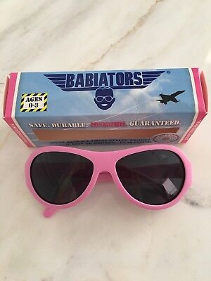 BABIATORS ORIGINAL AVIATORS Princess PINK AGES 0-3 Baby Girl