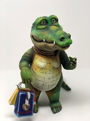 "Carlos & Albert Shopping Alligator ""Signed"" Limited Edition #68/150"