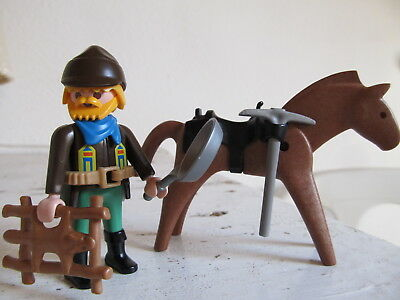 Playmobil Western :  Wild West:     Trapper Fallensteller  Cowboy