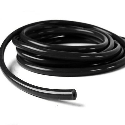 "3mm 1/8"" Vacuum Silicone Hose 10 Feet Black Universal Air Racing Pipe/Line/Tube"
