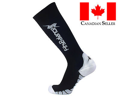 3 Pairs 20-30mmHg Compression Knee High Socks for MEN Performance Running Sports