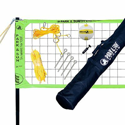 Park & Sun Sports Tournament Flex 1000 Outdoor Volleyball Net Set