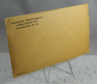1963 US Mint 5 Coin Silver Proof Set Original Mint Sealed Envelope CB395