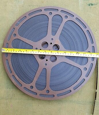 Edgar Wallace Film Ricochet c.1963 on Vintage 16mm 2000 Foot Reel Free P&P UK
