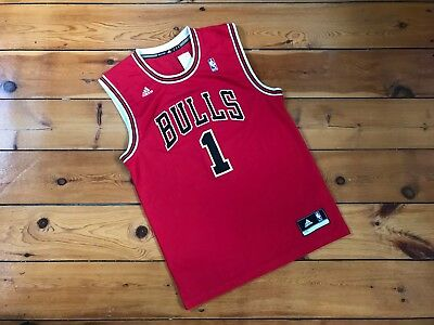 Chicago Bulls - Derrick Rose Jersey Adidas NBA Basketball M