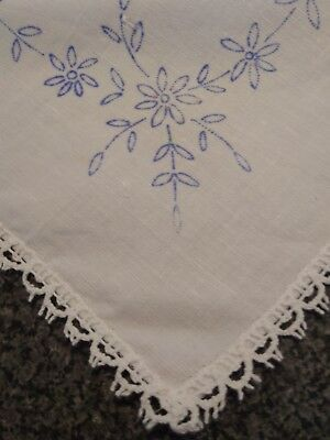 irish linen tablecloth to embroider