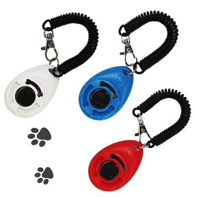 MG MULGORE Training Clicker Tool For Dog Puppy Exercise Obedience Behavior Aid