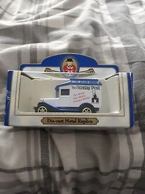oor wullie collectable toy car / van